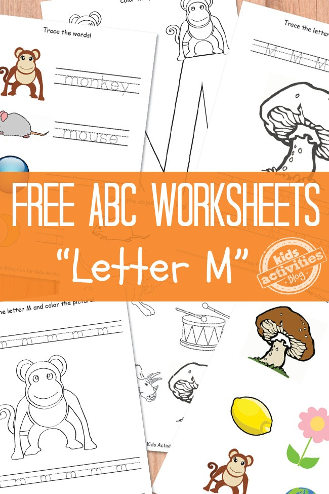 letter m worksheets letter m worksheets free printable activities 48896