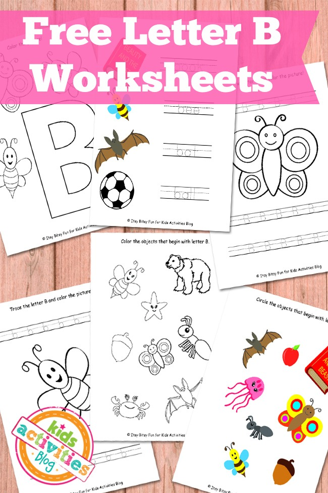 letter b activities letter b worksheets free printables activities 10930