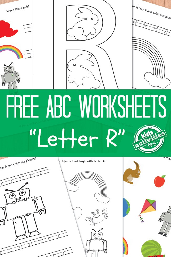 Letter R Worksheets Free Kids Printable Kids Activities