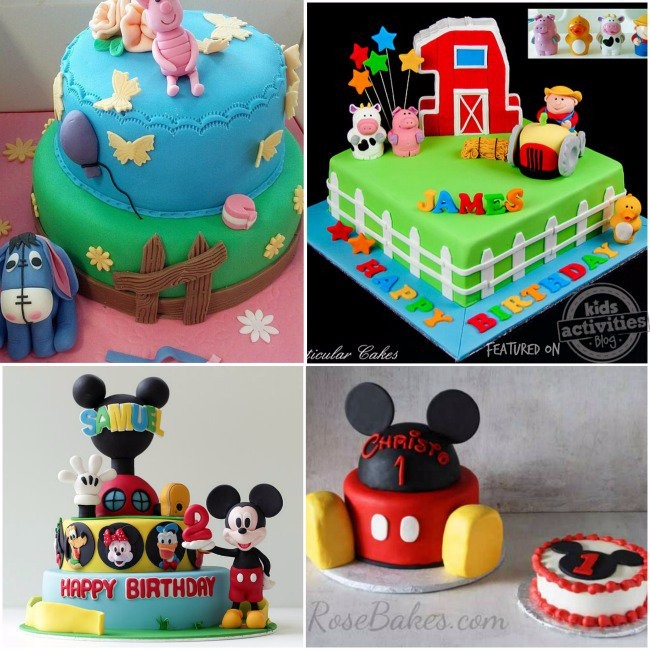 50 COOLEST BIRTHDAY CAKES ON THE PLANET Kids Activities