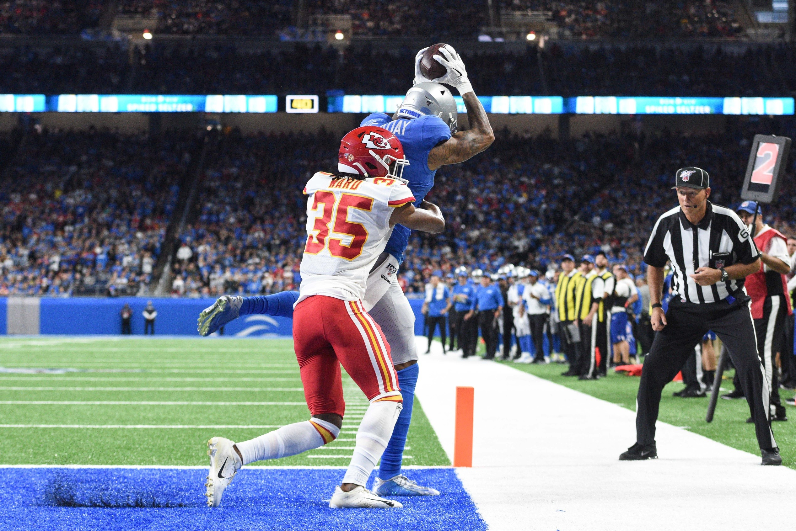 Image result for KENNY GOLLADAY touchdown vs chiefs