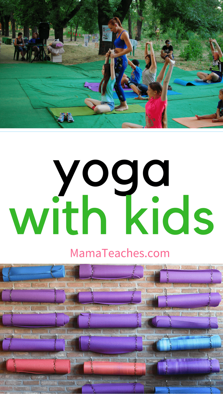 Yoga with Kids - Mama Teaches