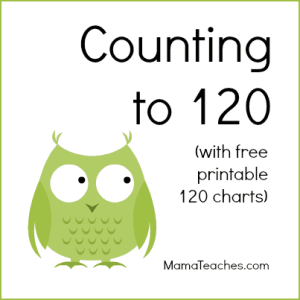 photo relating to Printable 120 Chart named Counting toward 120 No cost Printable Charts - Mama Teaches