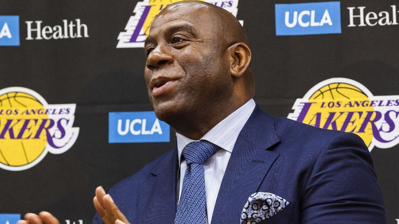 MICHIGAN STATE SPARTAN BASKETBALL COACH TOM IZZO ON MAGIC JOHNSON LEAVING LAKERS