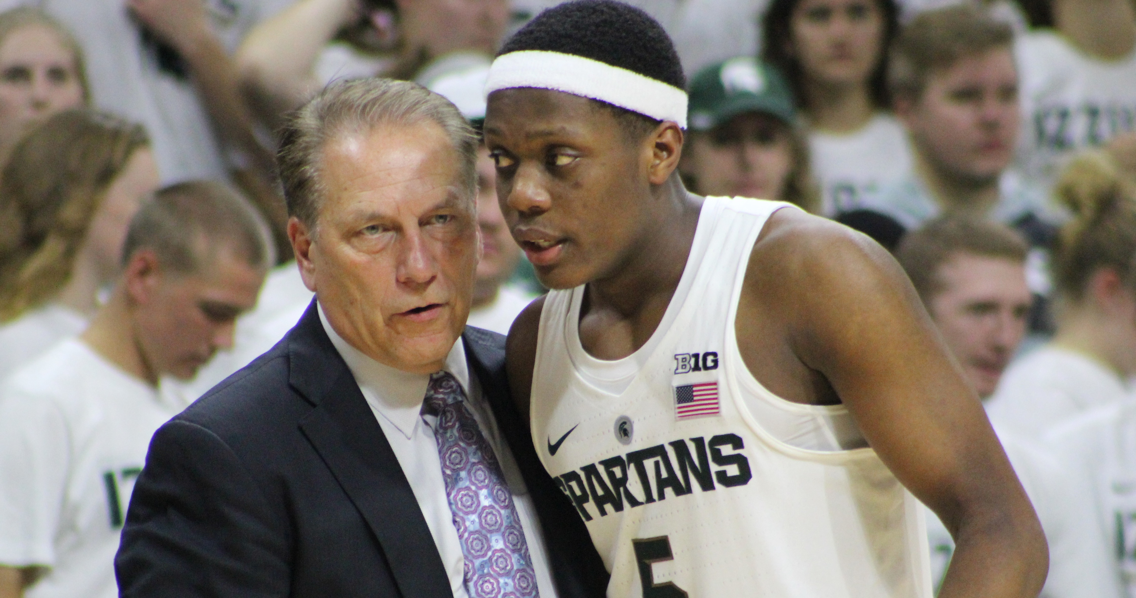 MICHIGAN STATE SPARTAN BASKETBALL COACH TOM IZZO ON THREE EMERGING LEADERS