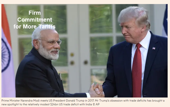 Trade War With India Starts How Trump Is Winning The