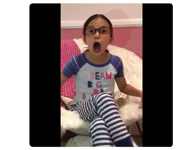 Hilarious Video Of 8 Year Old Imitating And Mocking Aoc