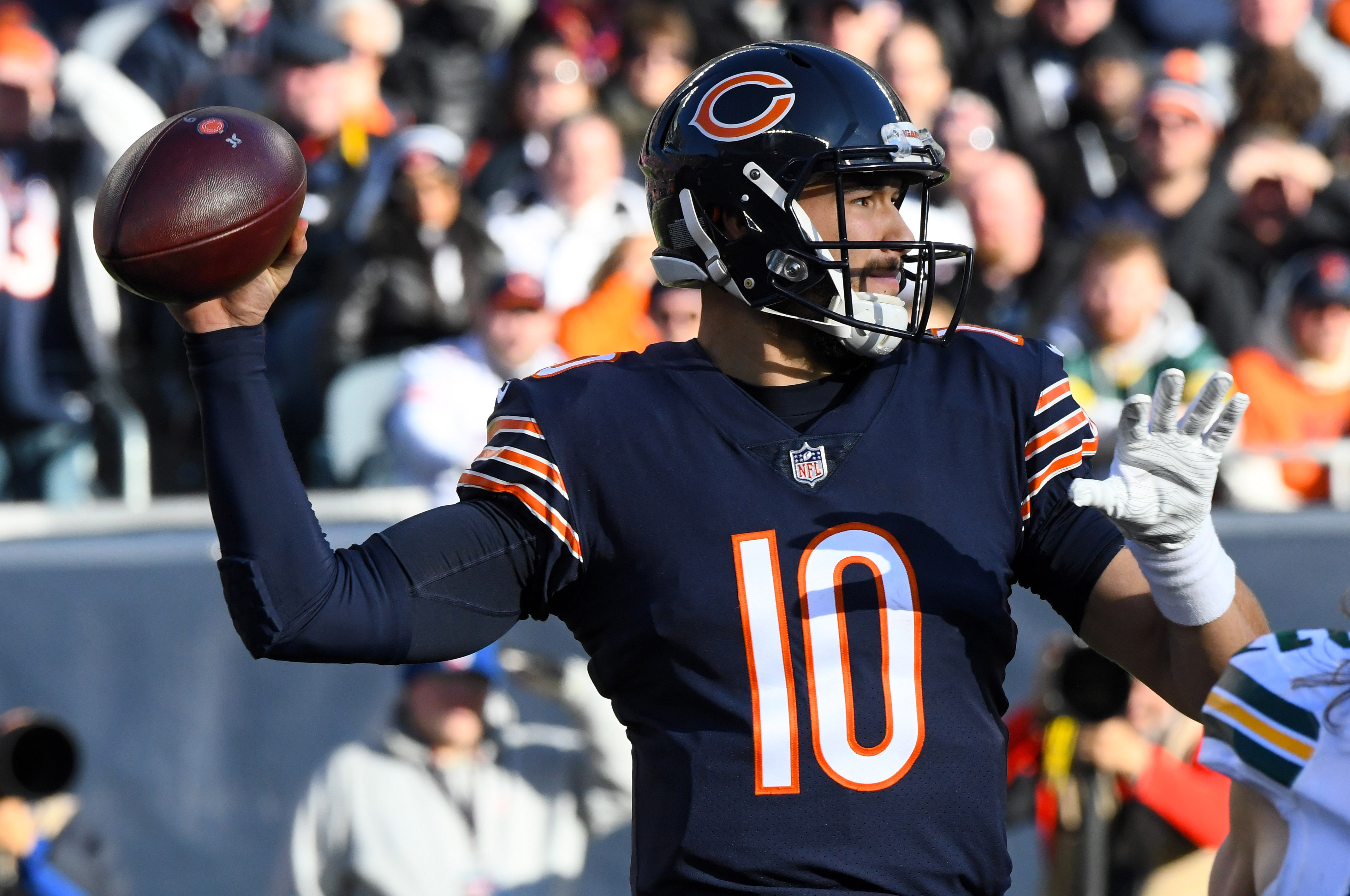 c9aed8a6bf8e9 Jackson, Trubisky lead Bears to NFC North title - Packers Maven