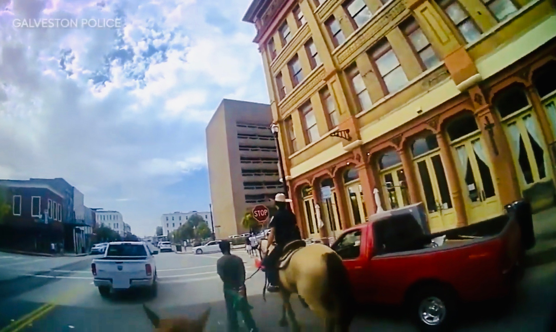 """White Cop on Horse Admits Leading Black Man into Town by Rope will """"Look so Bad"""""""