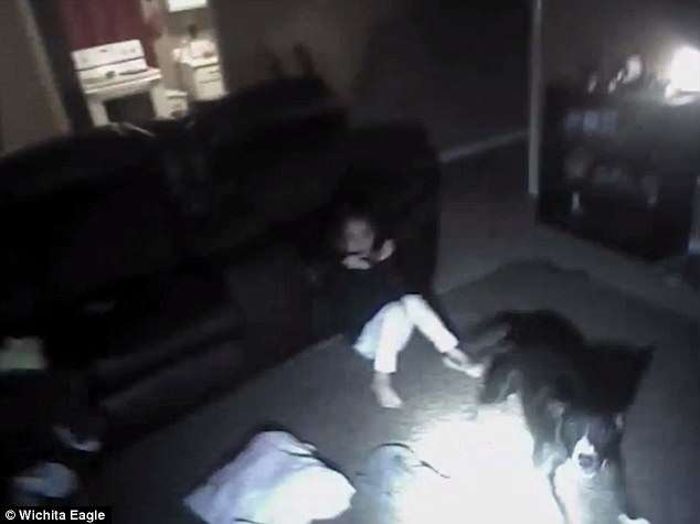 WATCH: Cop Shoots Dog in Room Full of Kids, hits 9-year-old
