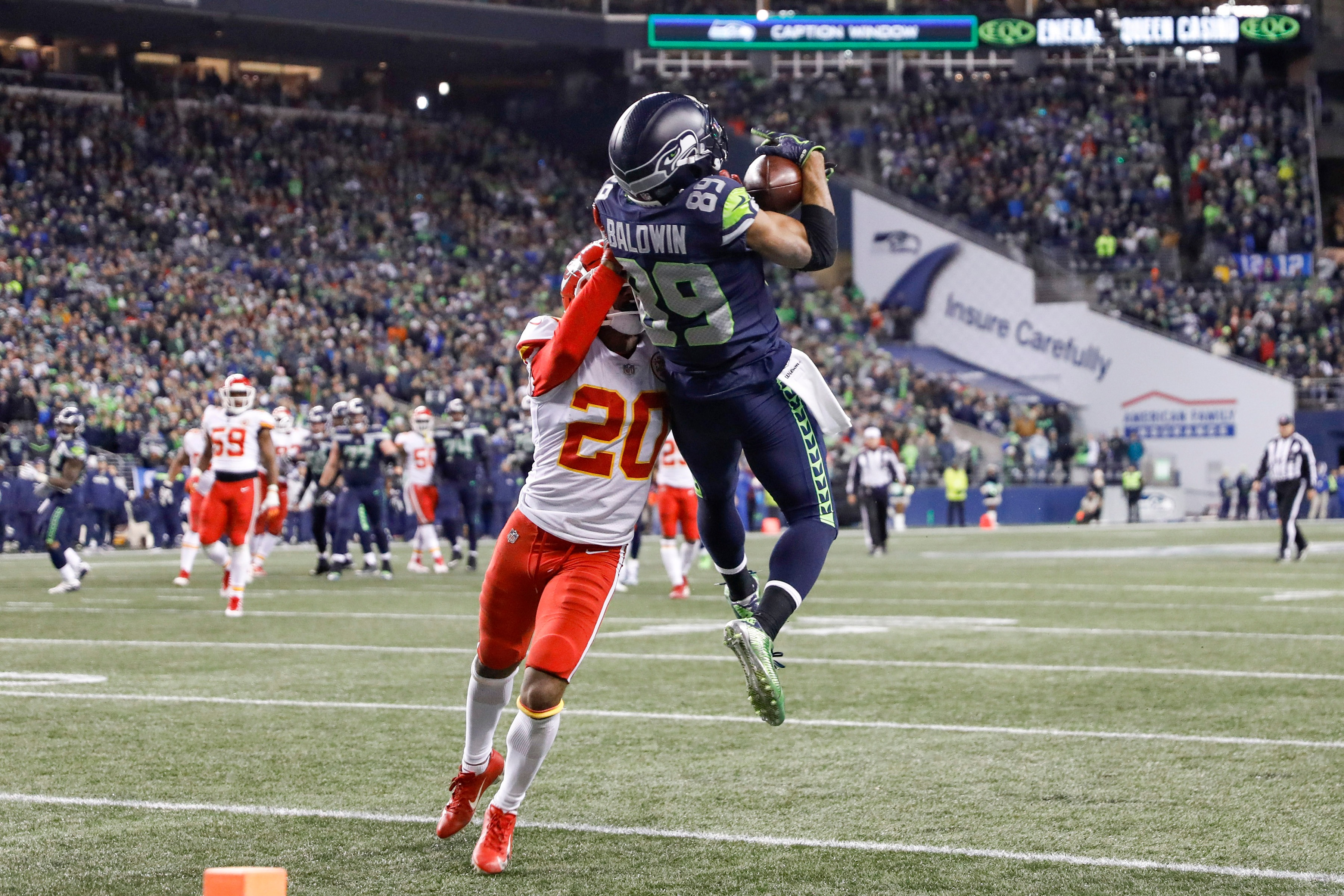 Top 5 Receivers in Seahawks History
