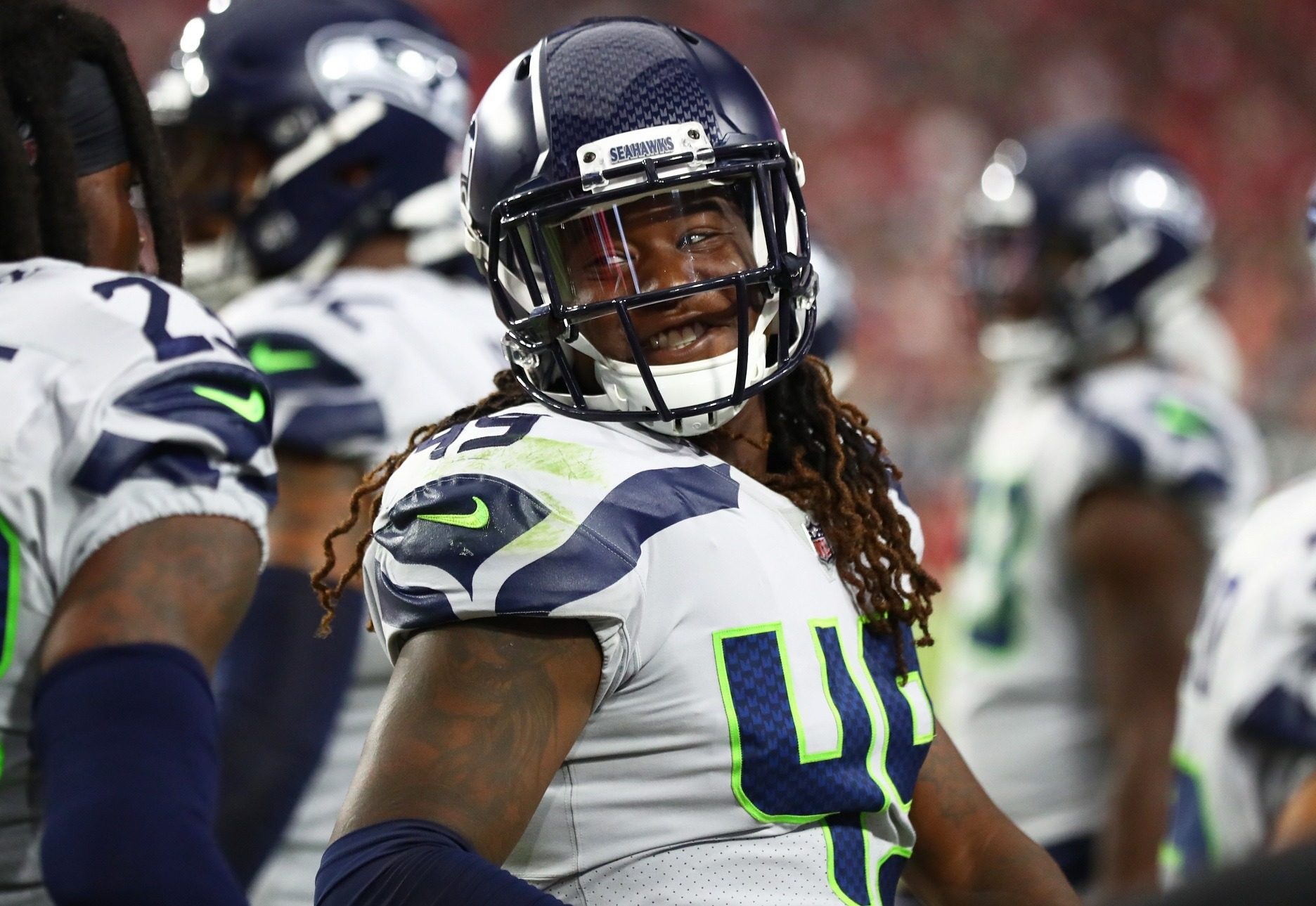 Livin' on the Edge: Seahawks LB Shaquem Griffin Reacclimating to Comfort Zone