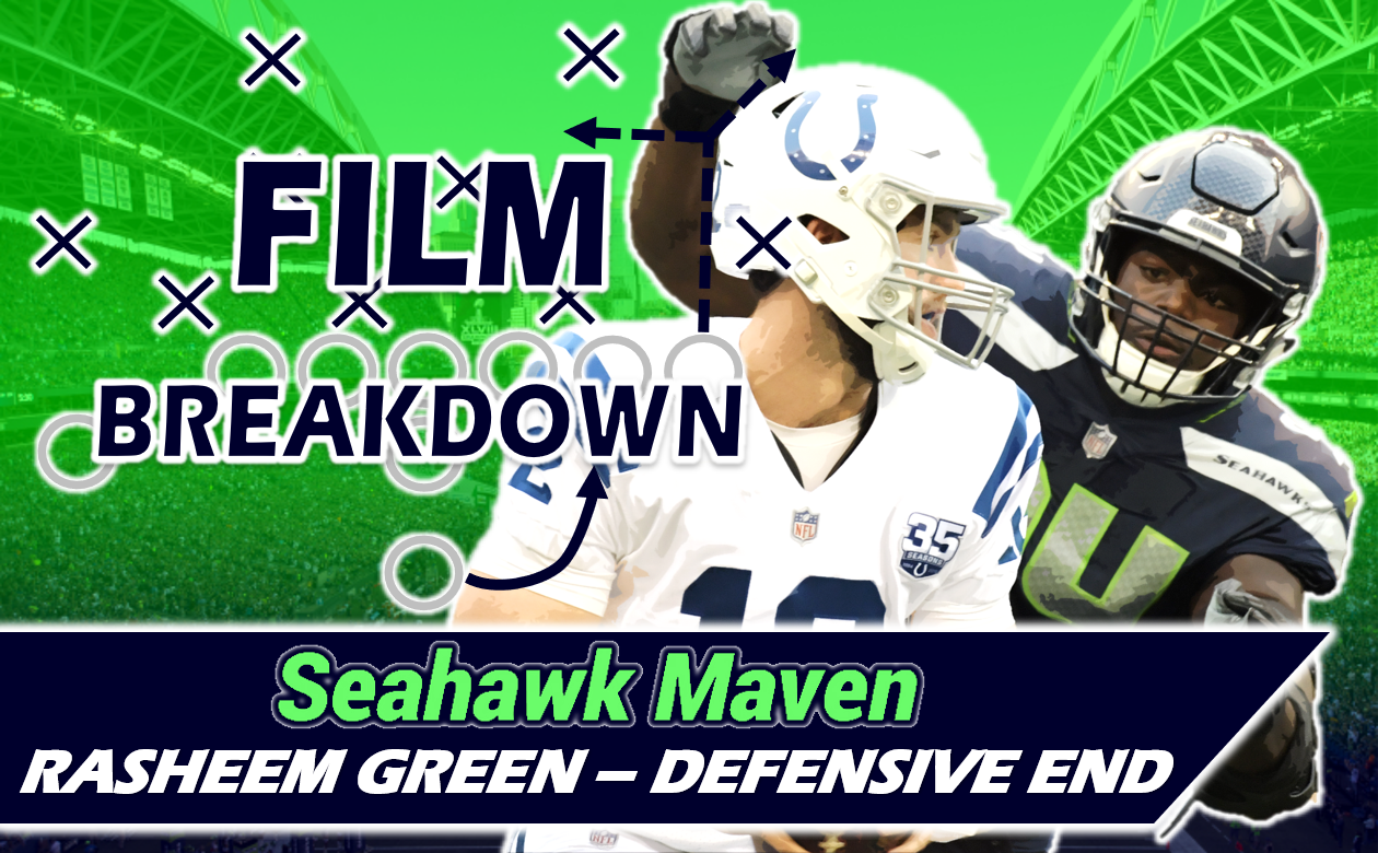 huge selection of 7d926 c258a Film Breakdown: Can Rasheem Green Make the Leap for Seahawks ...