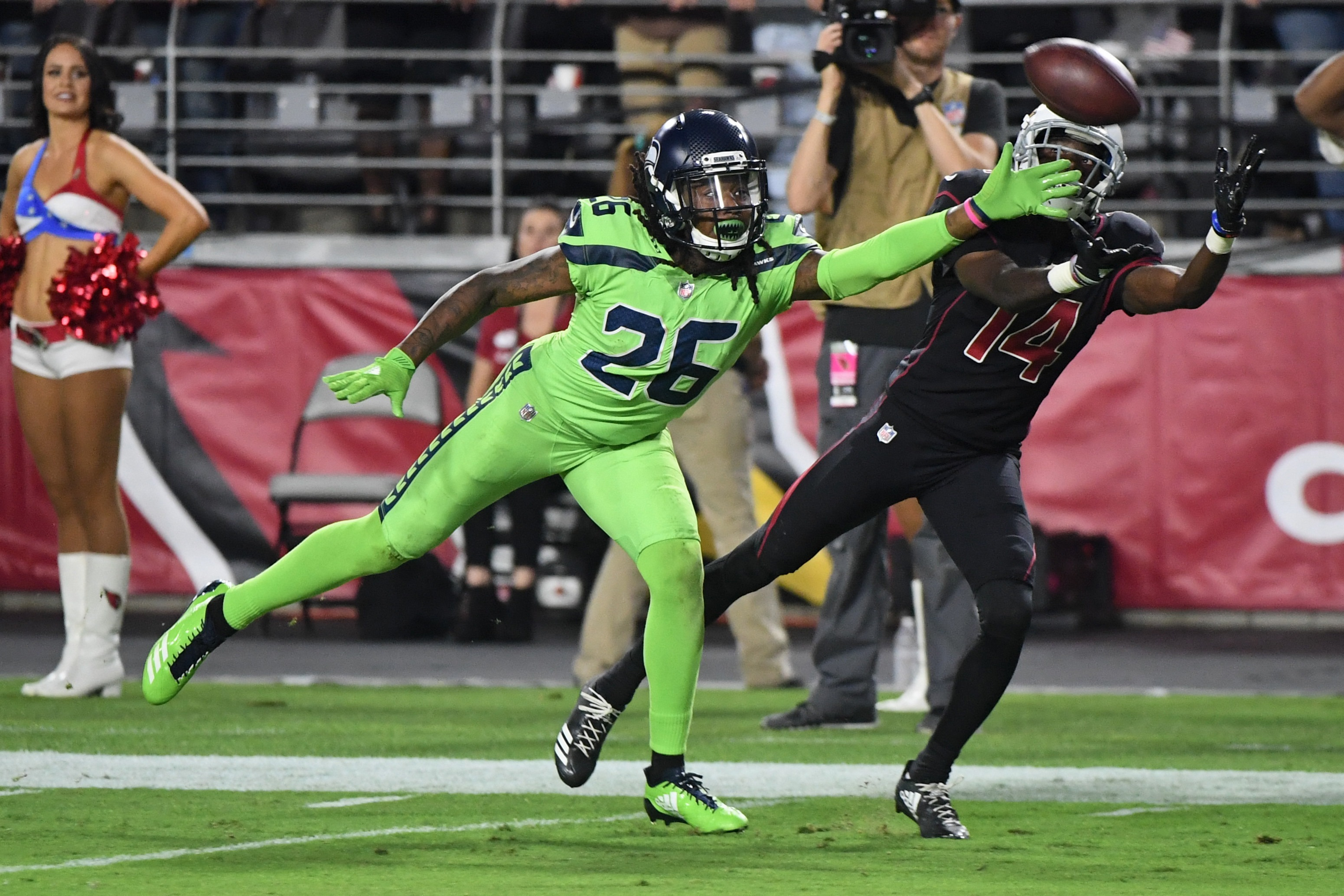 9679eaea6618b According to the team's social media accounts, the Seahawks will be busting  out their alternate action green uniforms for their upcoming Week 14  contest ...