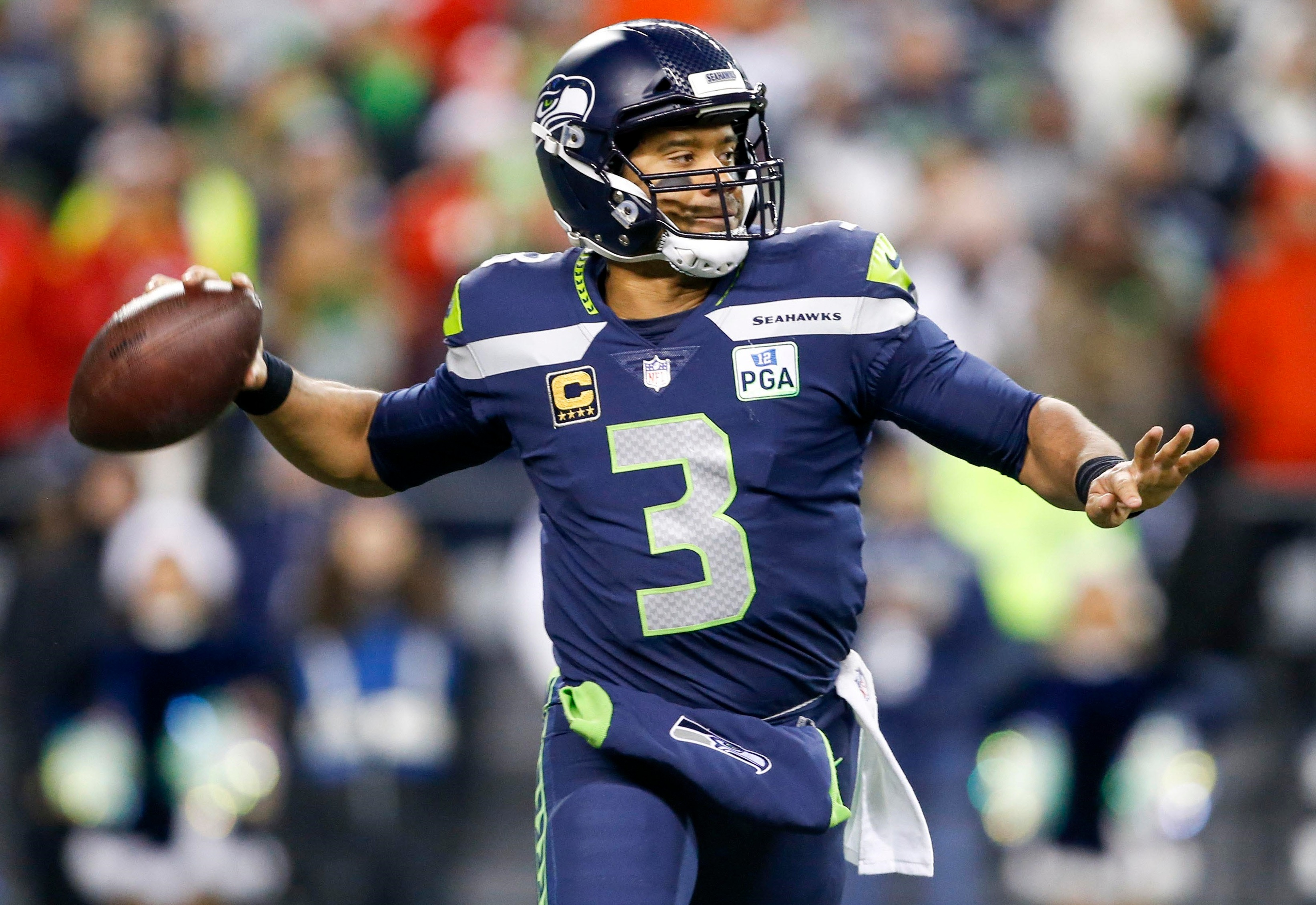 Russell Wilson Excited to Throw to New-Look Seahawks Receiving Corps