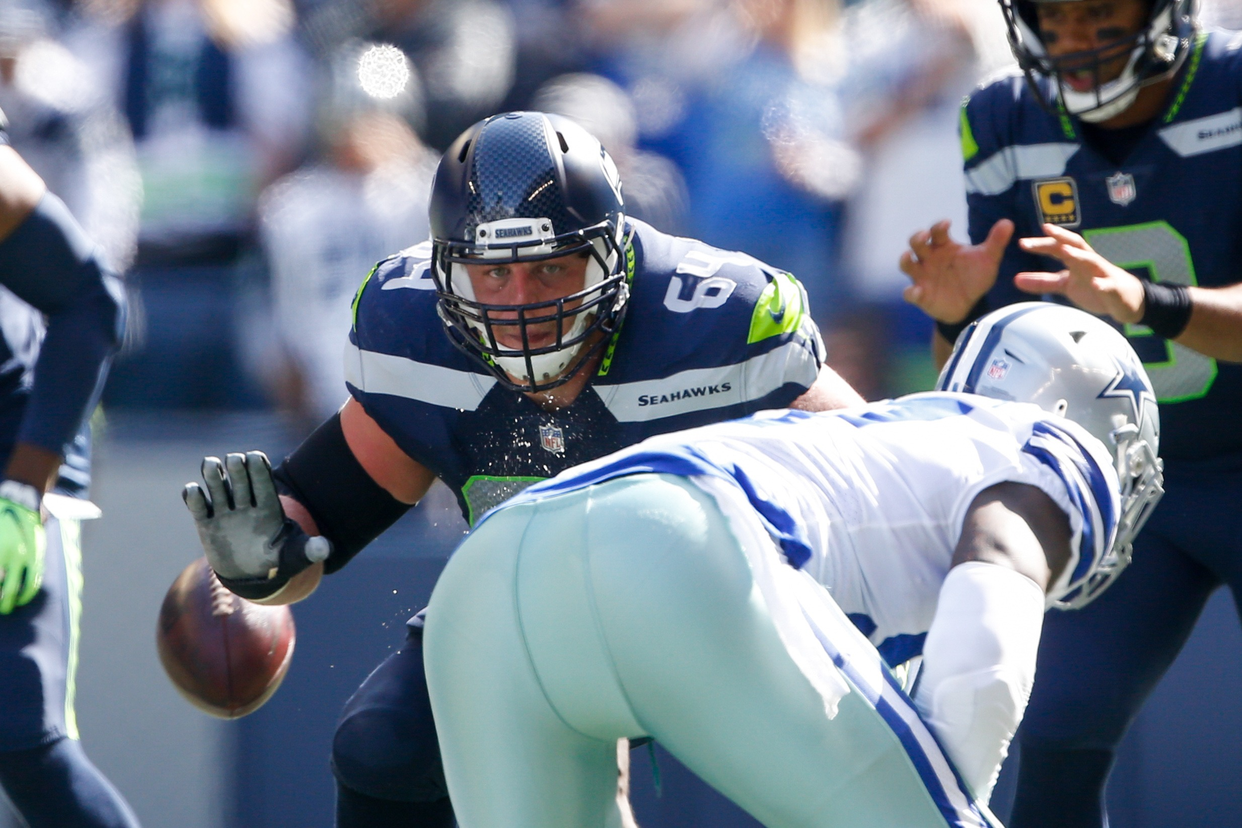 Seahawks G J.R. Sweezy Active for Wild Card Matchup with Cowboys