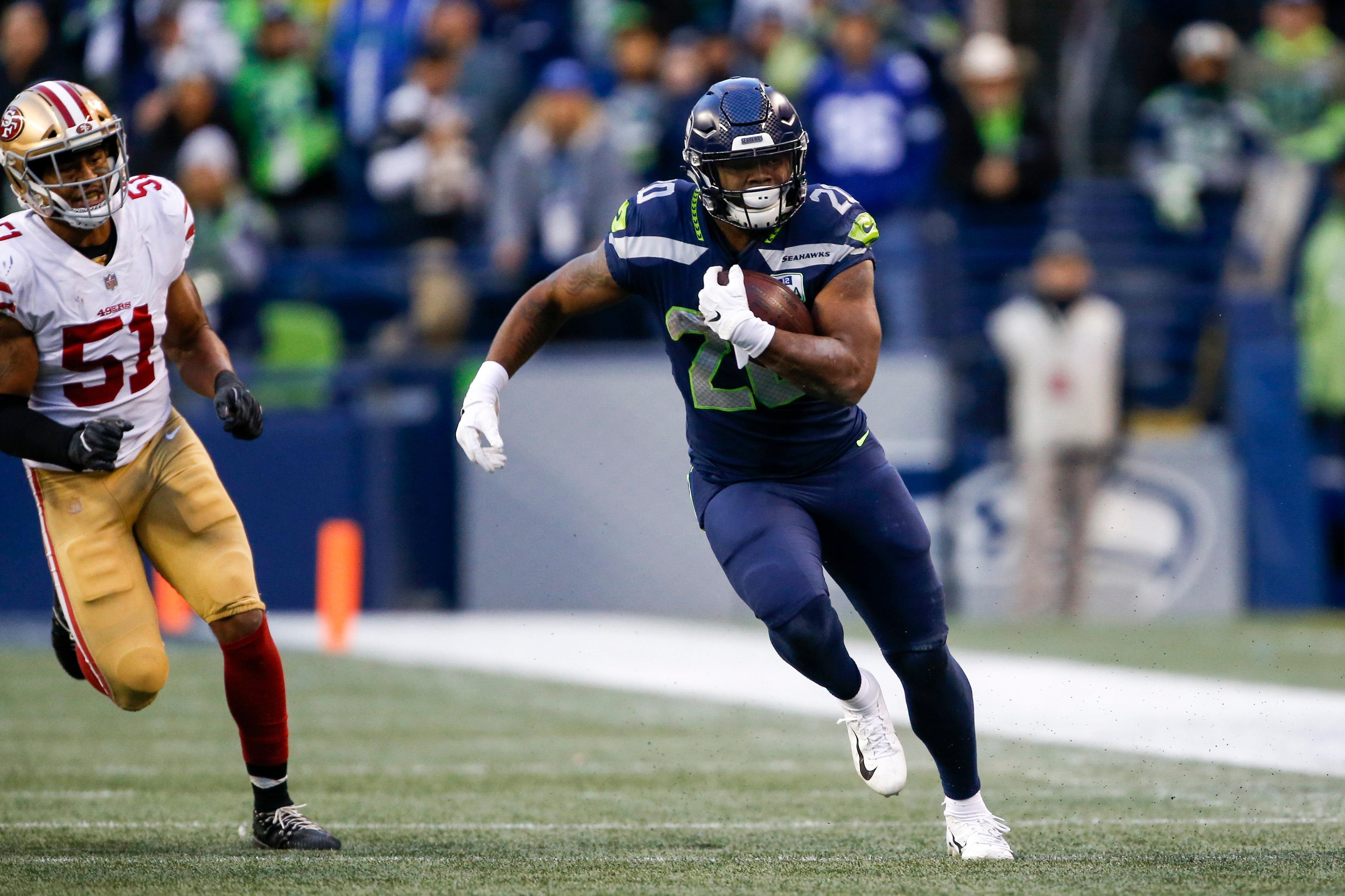 Rashaad Penny Headlines Seahawks Inactives Versus 49ers