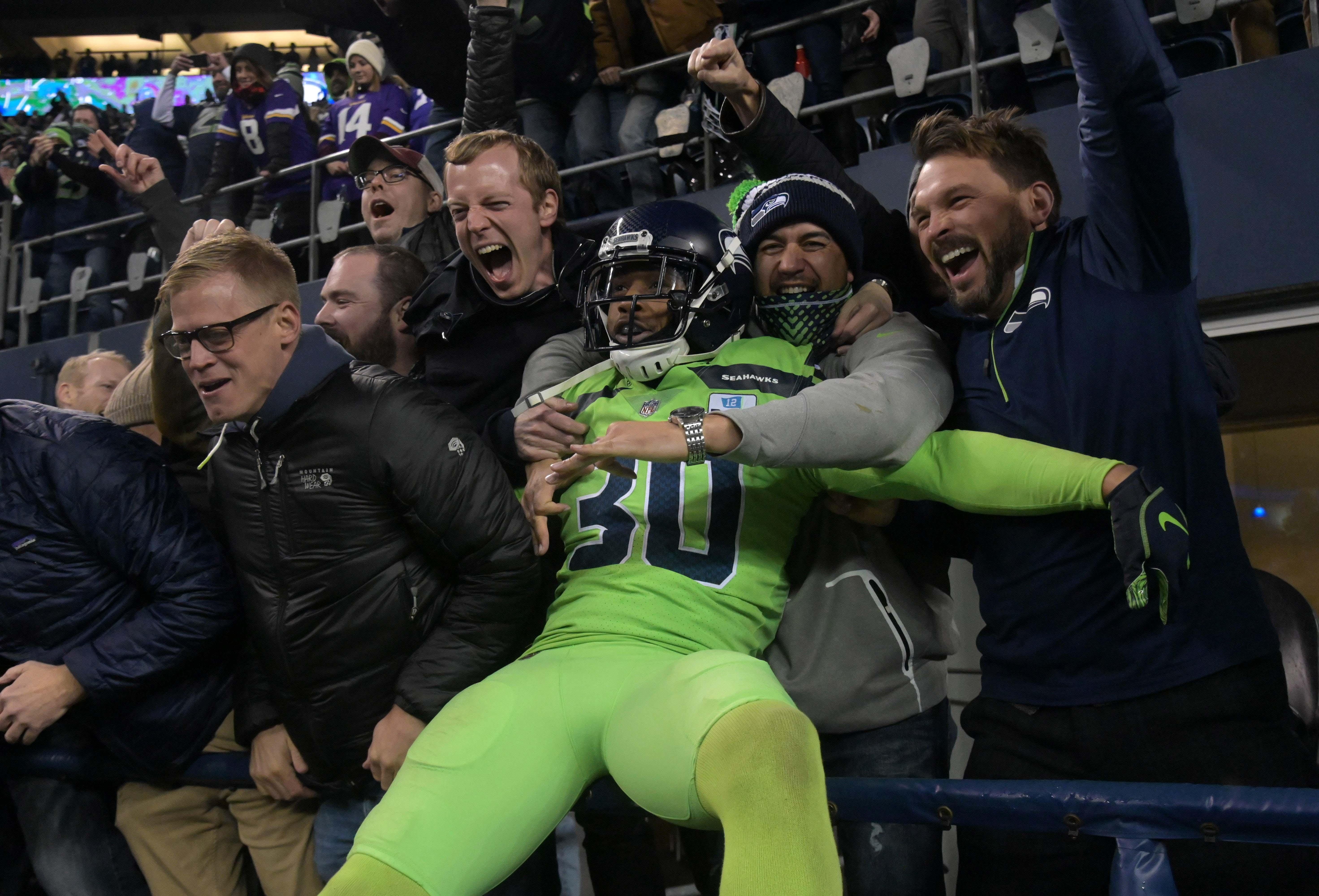Seahawks G D.J. Fluker, S Bradley McDougald Active Versus Chiefs