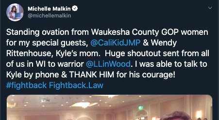 Report: Kyle Rittenhouse's Mother Received A Standing Ovation At A WI GOP Event