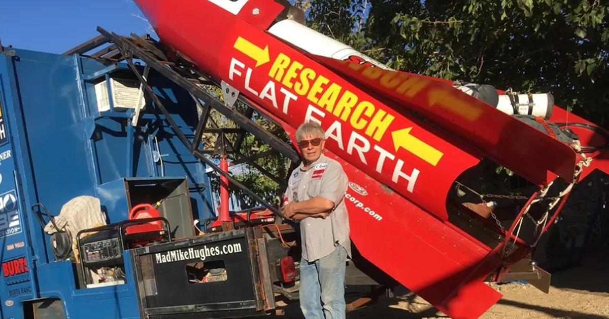 Flat Earther launches himself to prove Earth flat, dies in crash landing