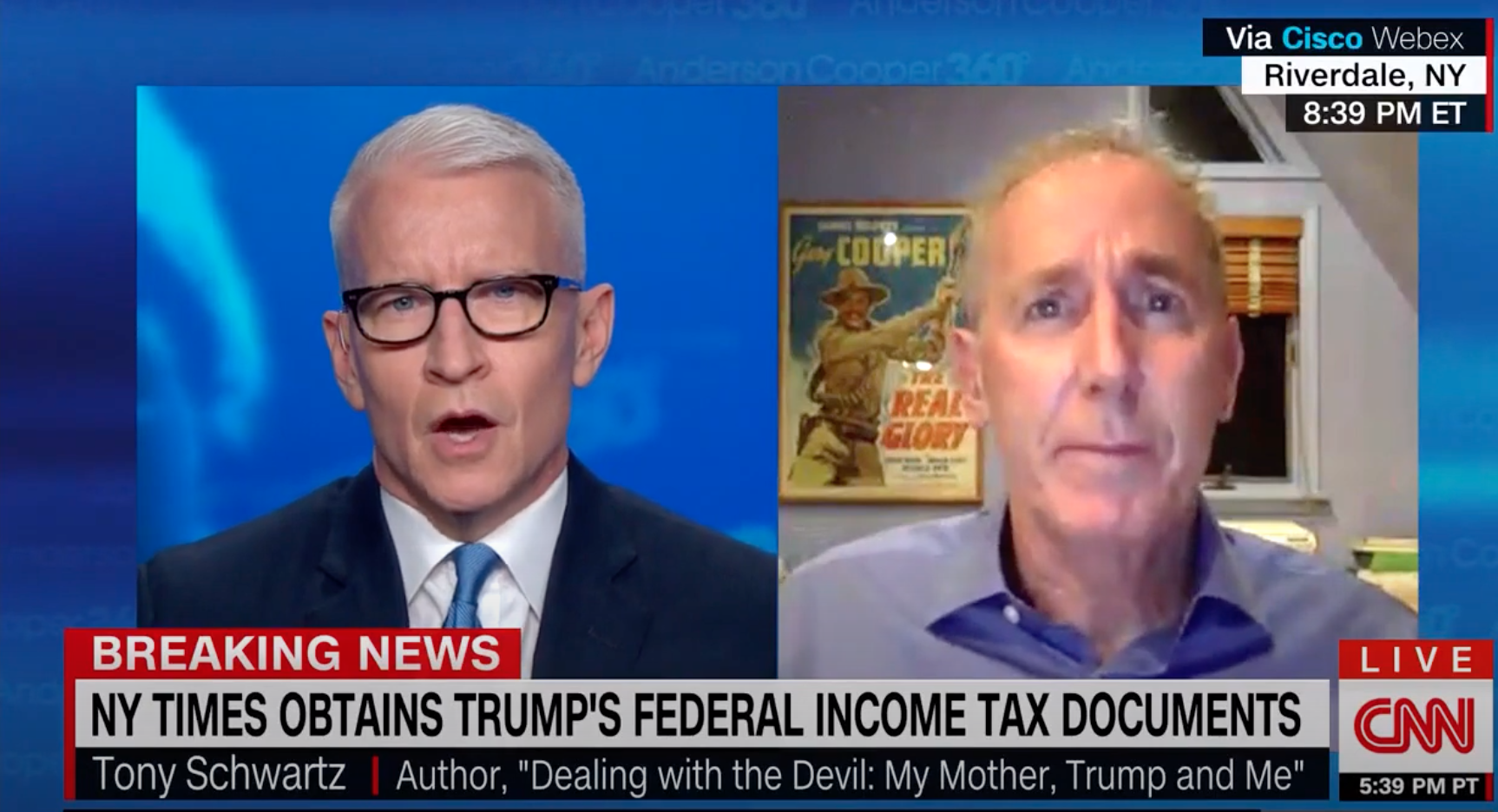 """'Art of the Deal' Co-Author: Trump Is The """"Biggest Tax Fraud In IRS History'"""