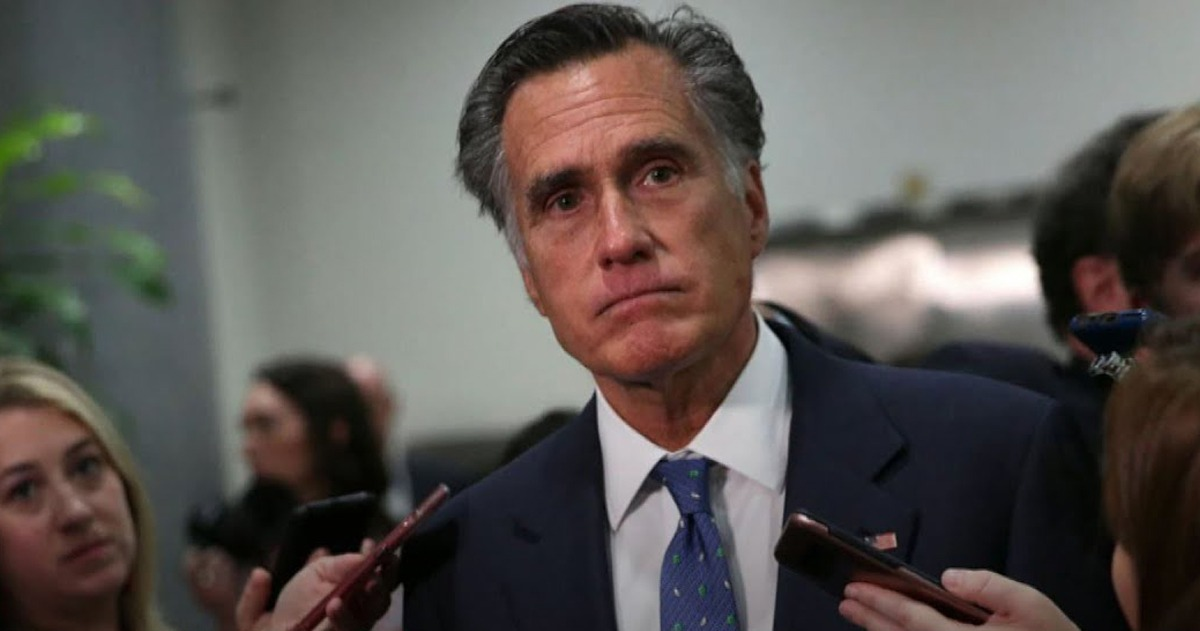 "Mitt Romney: Senate GOP's Biden, Burisma Probe ""Appears Political"""