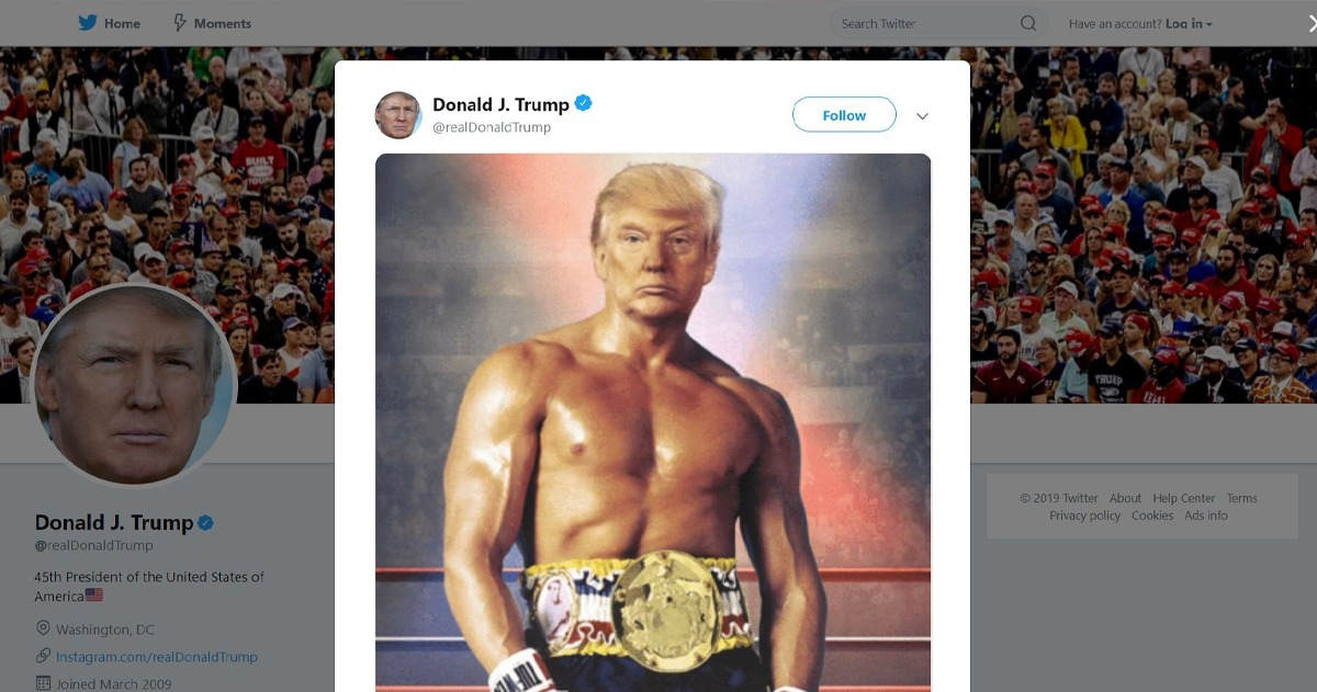 <b>Trump Campaign Disputes The Picture Above Was Doctored</b>