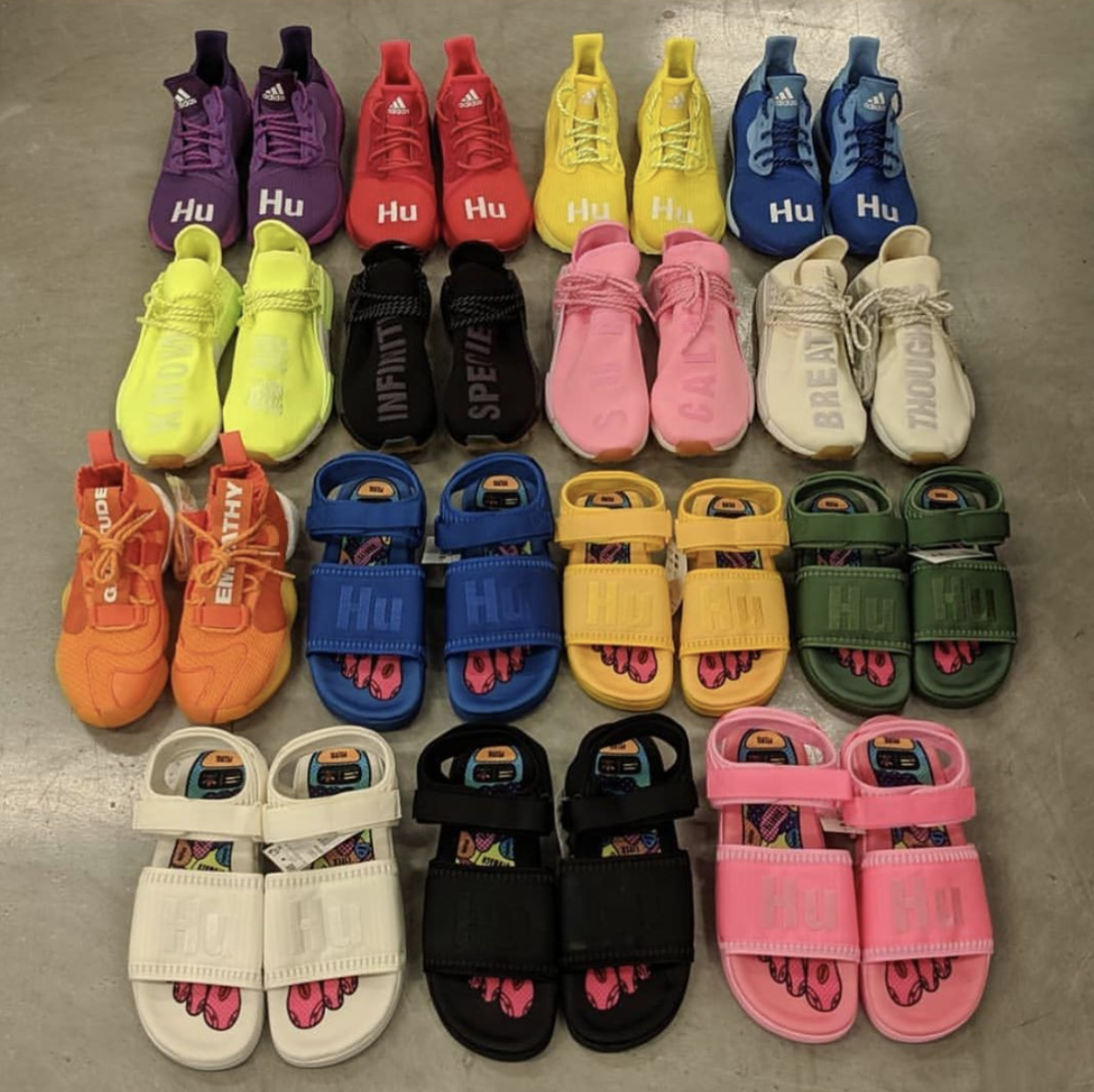 New 2019 Pharrell adidas Hu Collection Just Dropped