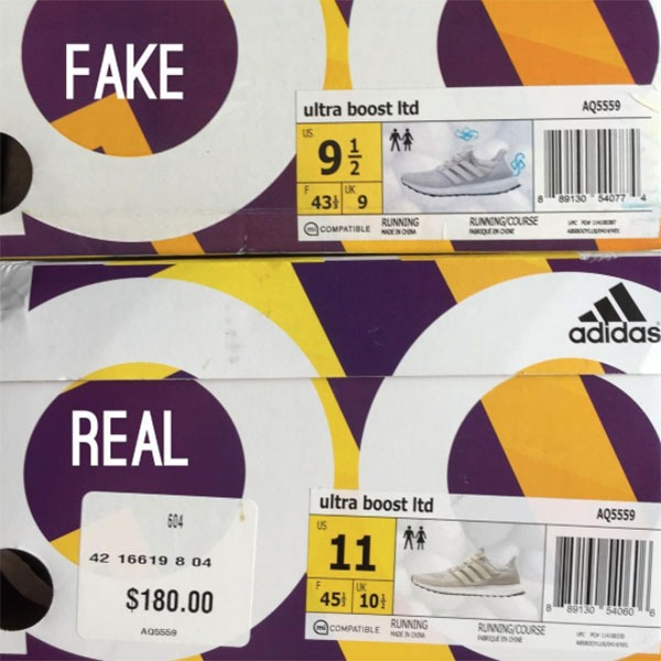 Real Vs Fake Adidas Ultra Boost Theshoegame Com