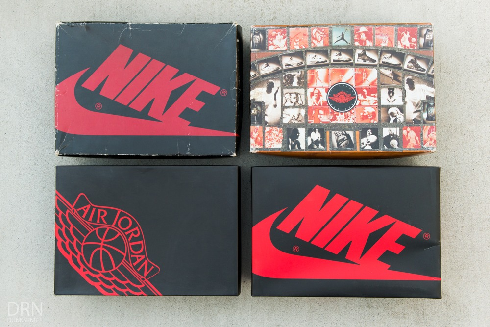 """Detailed Comparison Of Every Air Jordan 1 """"Chicago"""" 1985 – 2015"""
