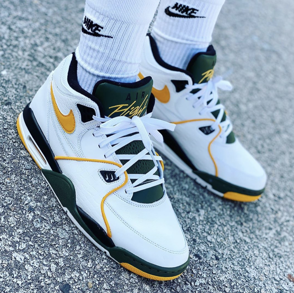 SuperSonics Nike Air Flight 89