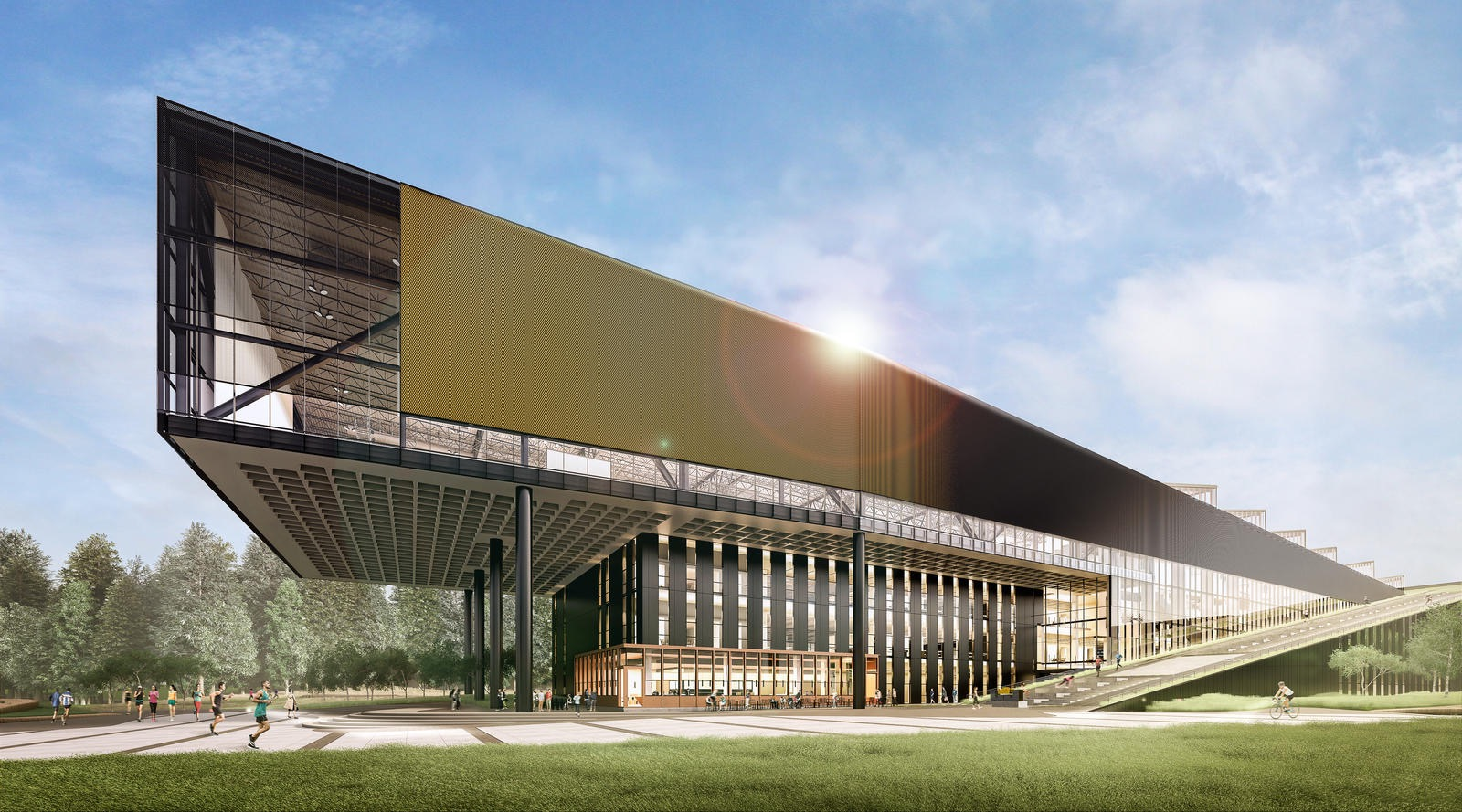 LeBron James Nike HQ Building Opens in 2020