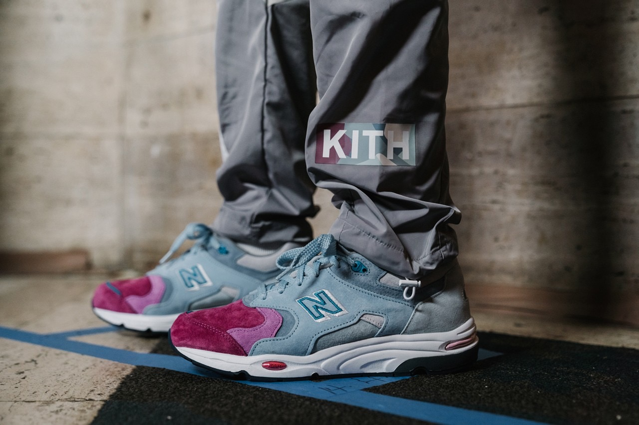 Kith Unveils New Sneaker Collaborations at NYFW Show