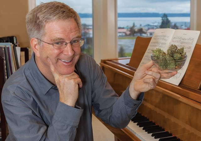 Travel Guru Rick Steves Will Hit the Road for Legal Weed in Michigan