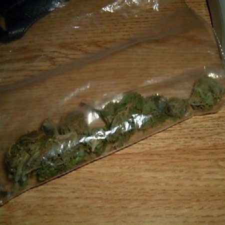 Eighth ounce of weed