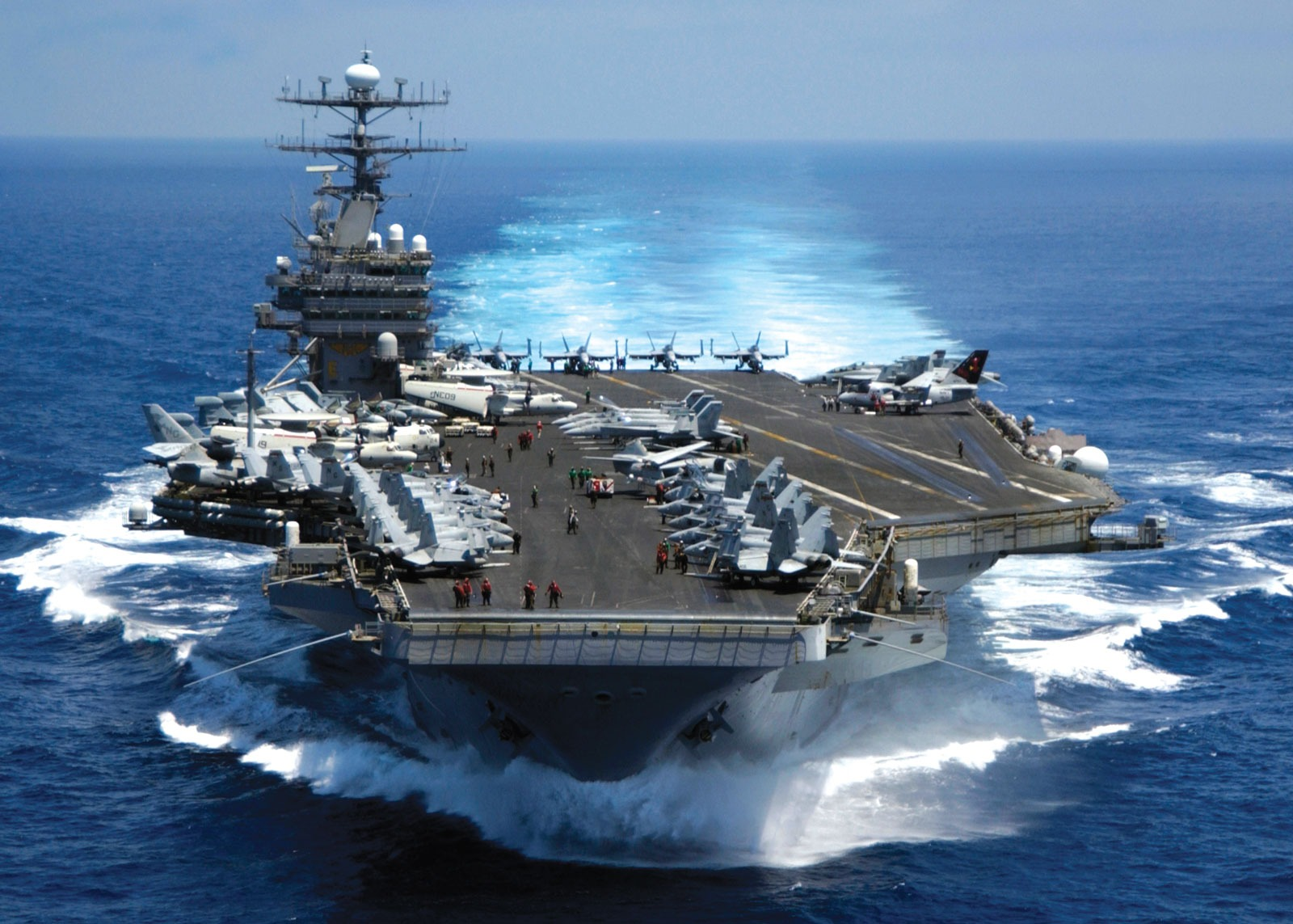 Navy Preps its New USS Ford Carrier for Massive, High-Speed Attacks