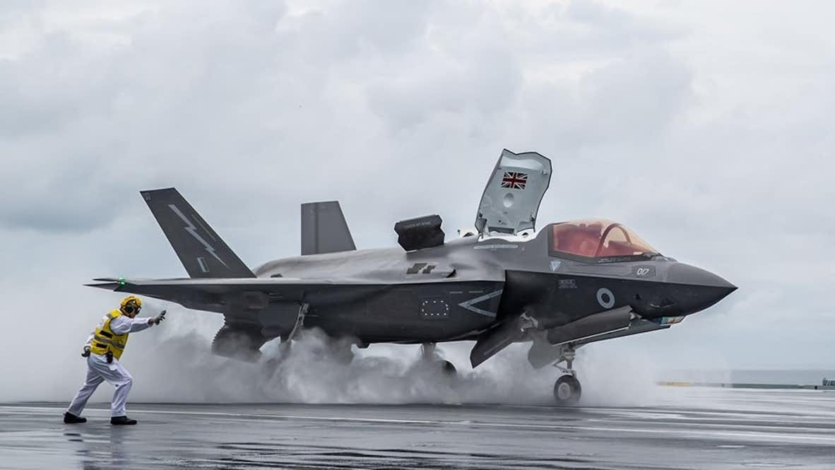 Navy Arms Amphib With 13 F-35s, Changes Future Maritime Assault