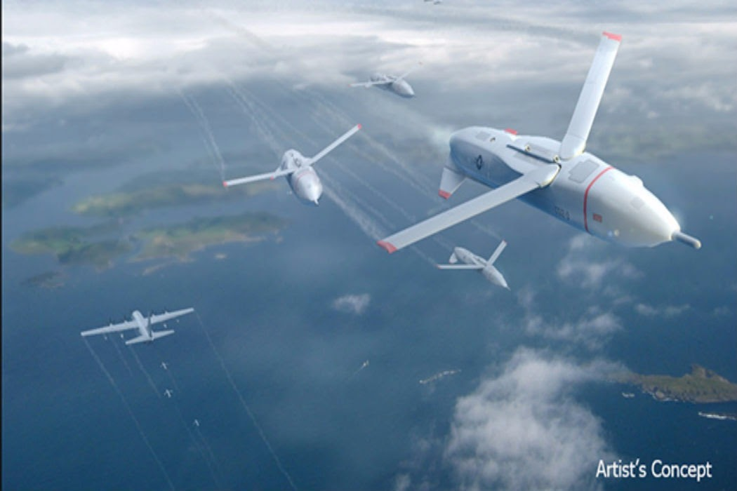 DARPA Gremlins to Launch & Recover Drones From Aircraft - 2019 - Warrior Maven