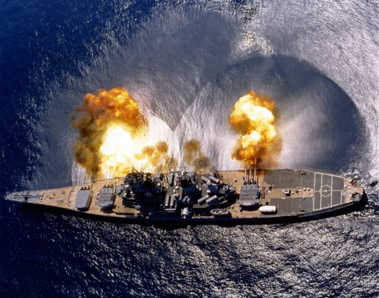 Navy's 5 Best Battleship Battles Of All Time