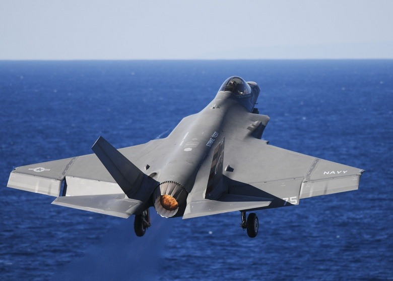 Navy Will Send Stealthy, Carrier-Launched F-35C to War in 2021