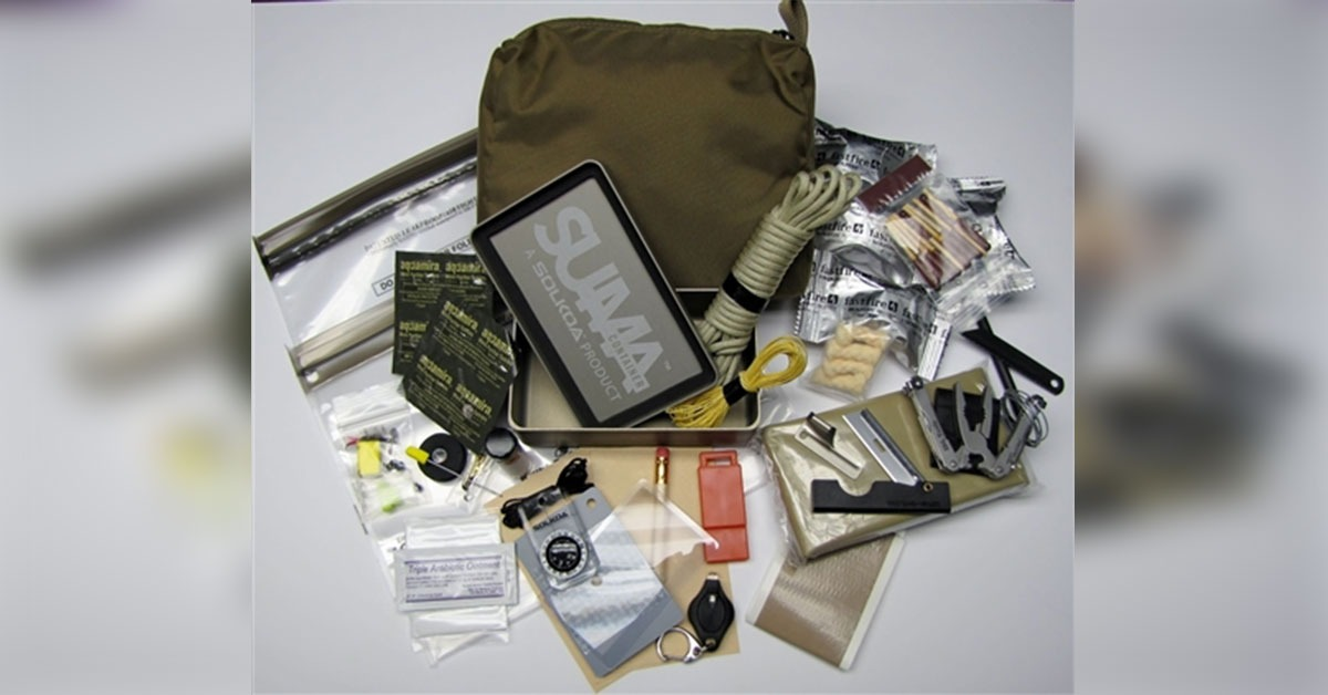 See What Navy SEALs Carry in Tiny Survival Kit - Warrior Maven