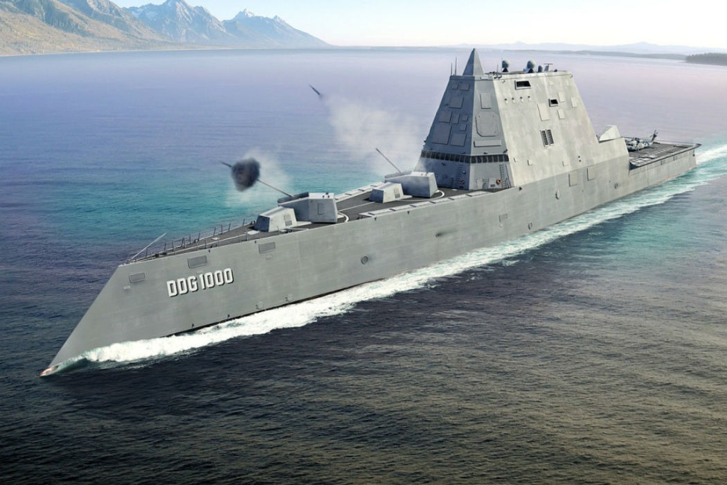 Navy Preps Stealthy Zumwalt-Class Destroyers for New Weapons & AI - Warrior Maven