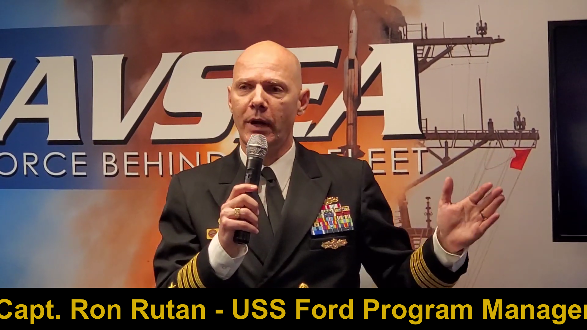Video: Navy Capt. Describes High-Speed Attacks on USS Ford