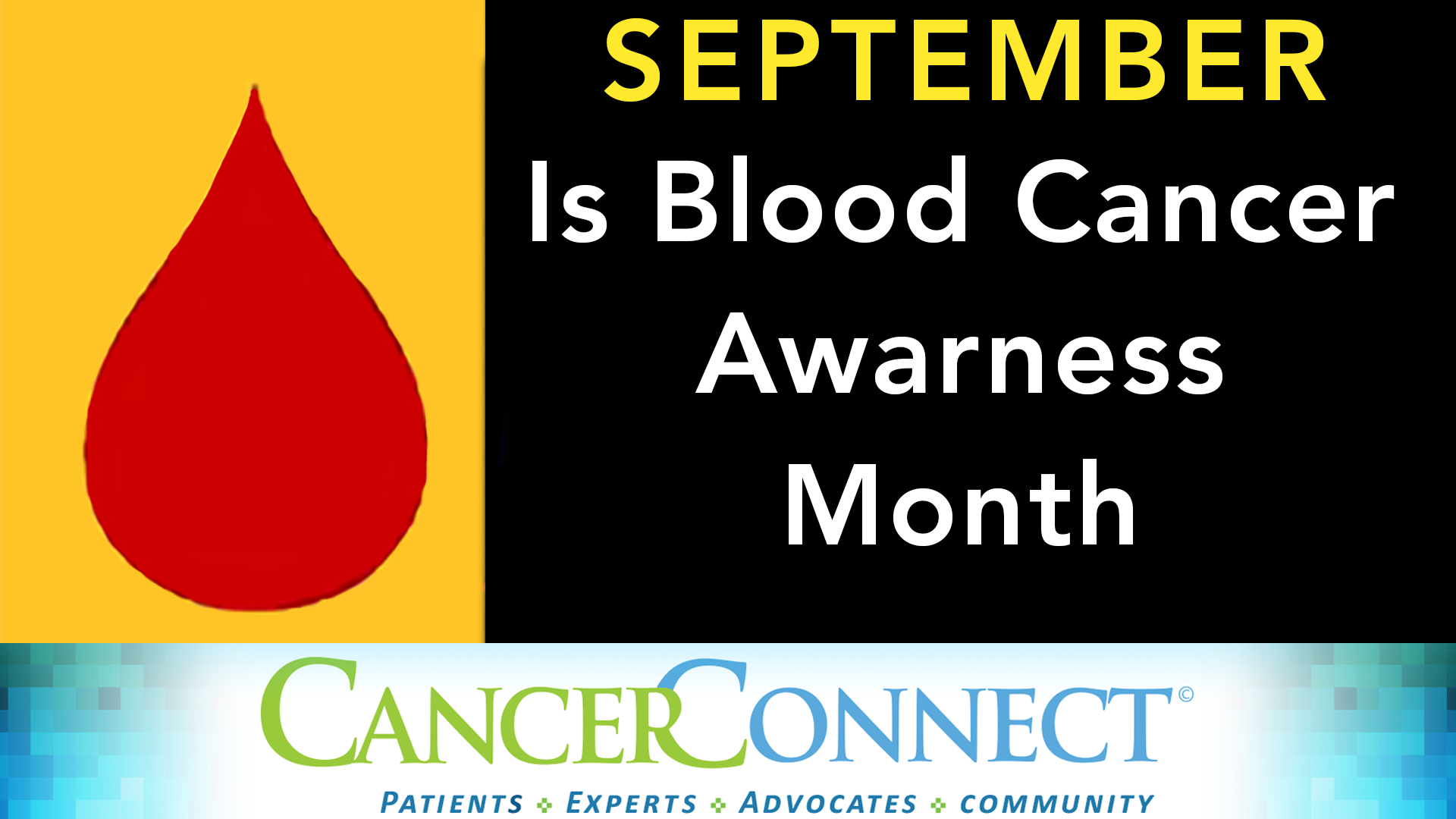 September Is National Blood Cancer Awareness Month