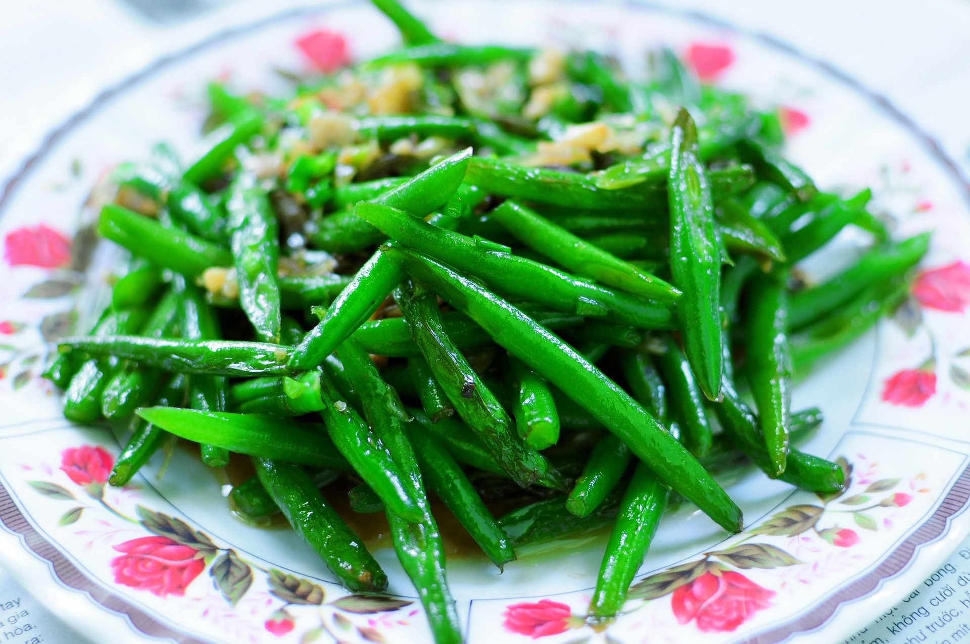 Green Bean Stir-Fry