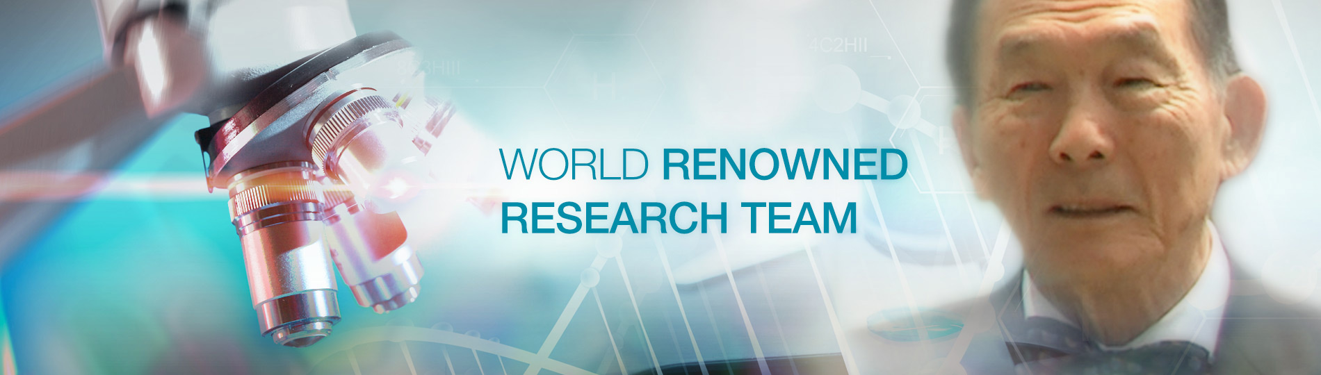 World renowned research team