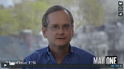 Lessig Calls a Mayday