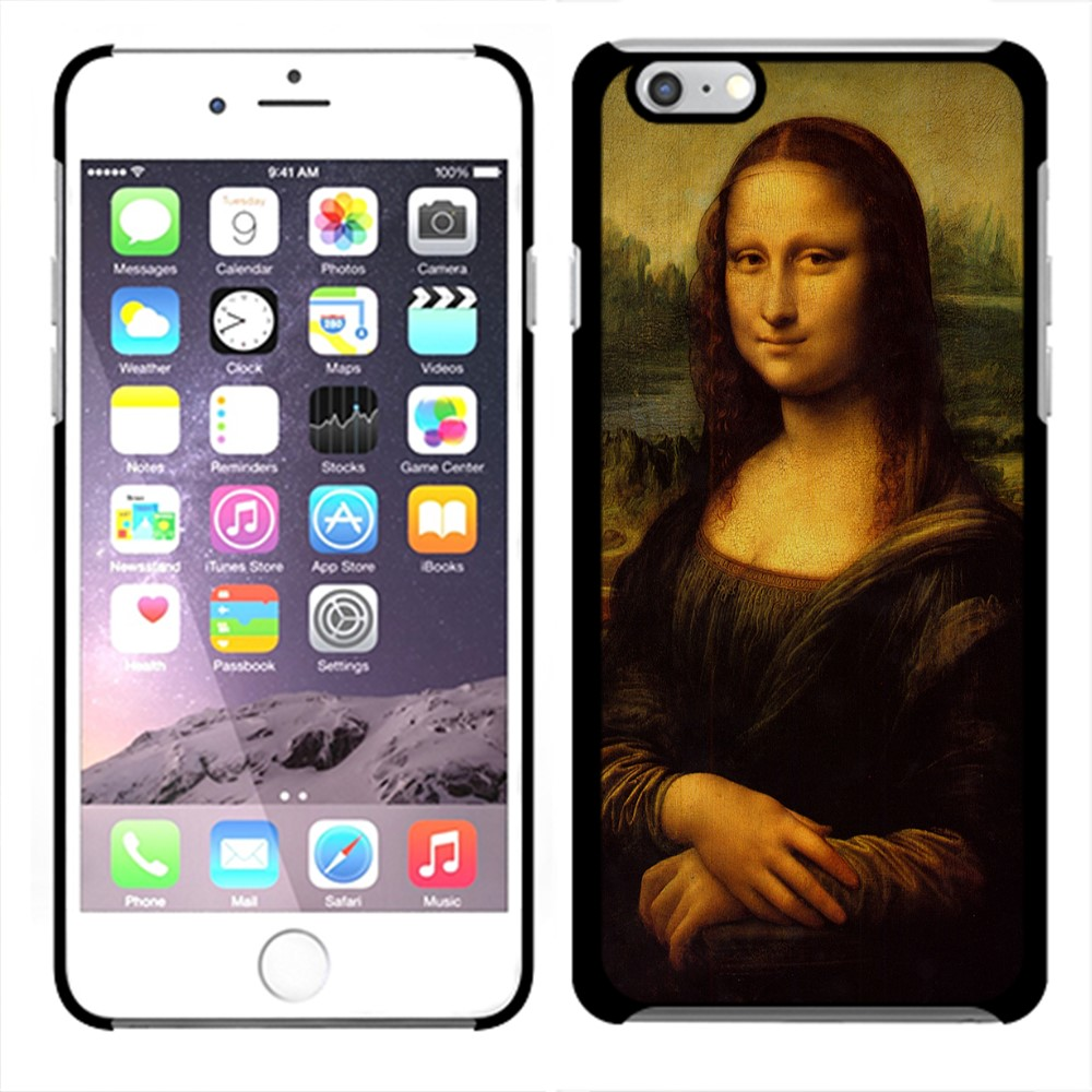 Apple iPhone 6 4.7 inch iPhone 6s 4.7 inch 2nd Gen 2015 Mona Lisa Leonardo Da Vinci Back Cover Case