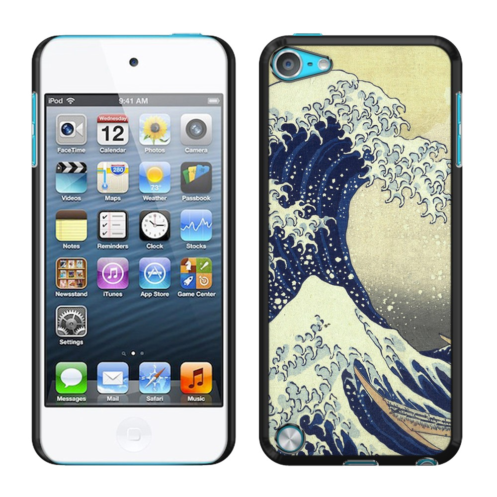Apple iPod Touch 5 (5th Generation) iPod Touch 6 (6th Generation) The Great Wave Off Kanagawa Back Cover Case