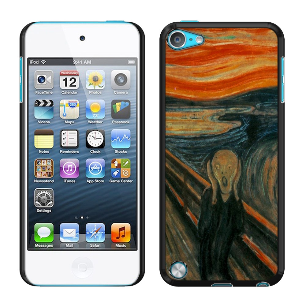 Apple iPod Touch 5 (5th Generation) iPod Touch 6 (6th Generation) The Scream Edvard Munch Back Cover Case